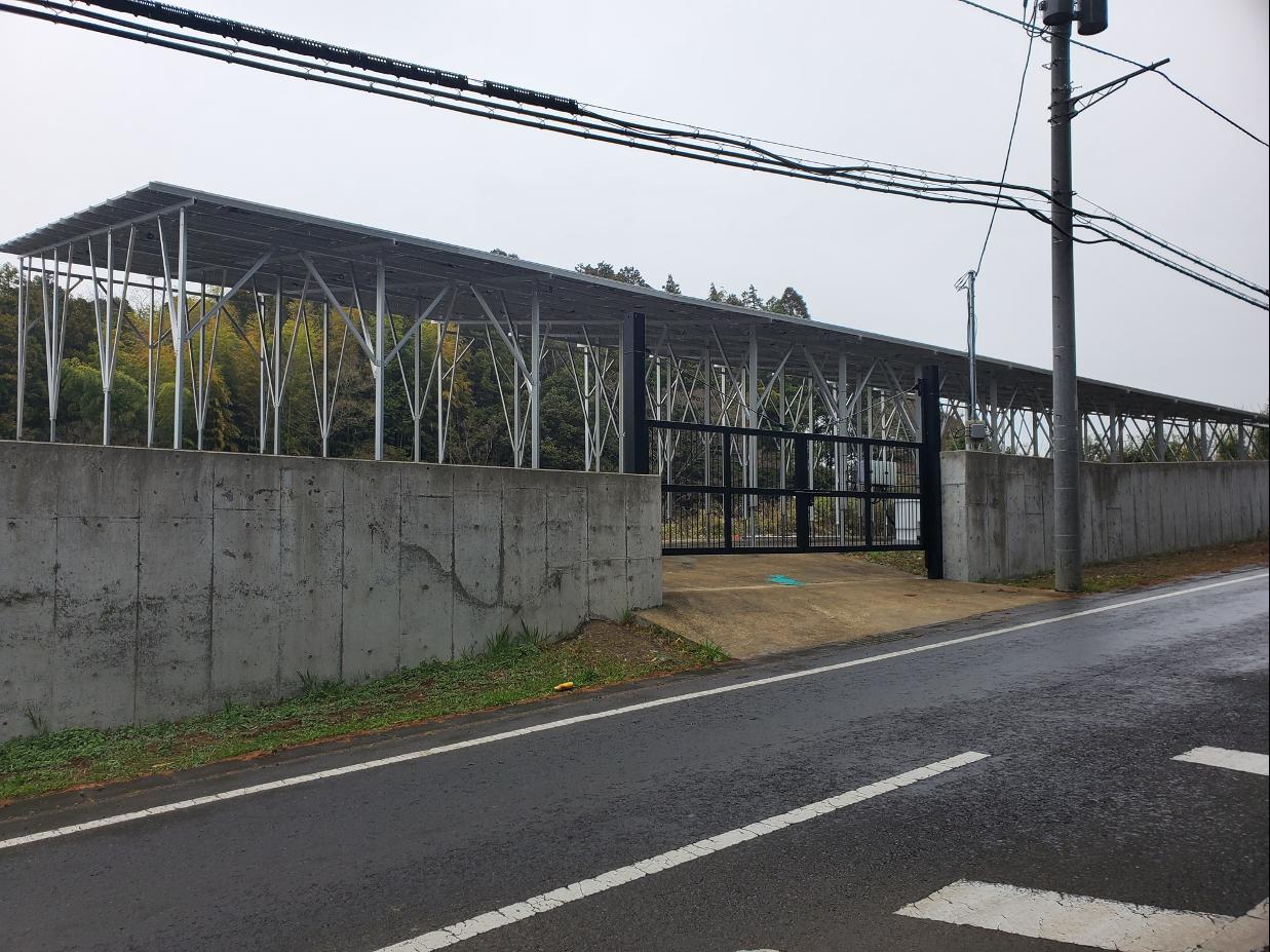 茨城県稲敷郡T様発電所