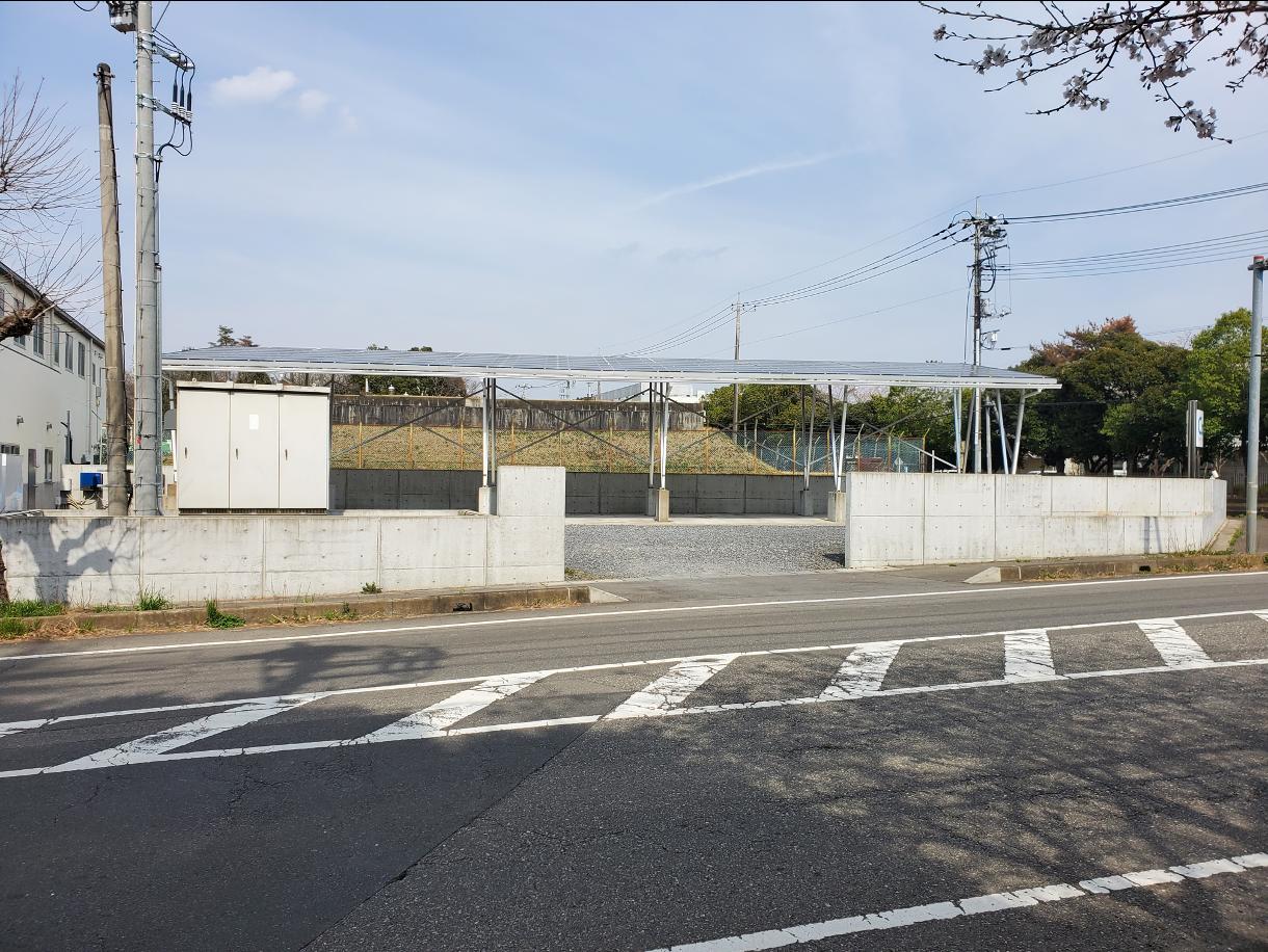 茨城県稲敷郡T様ソーラーカーポート